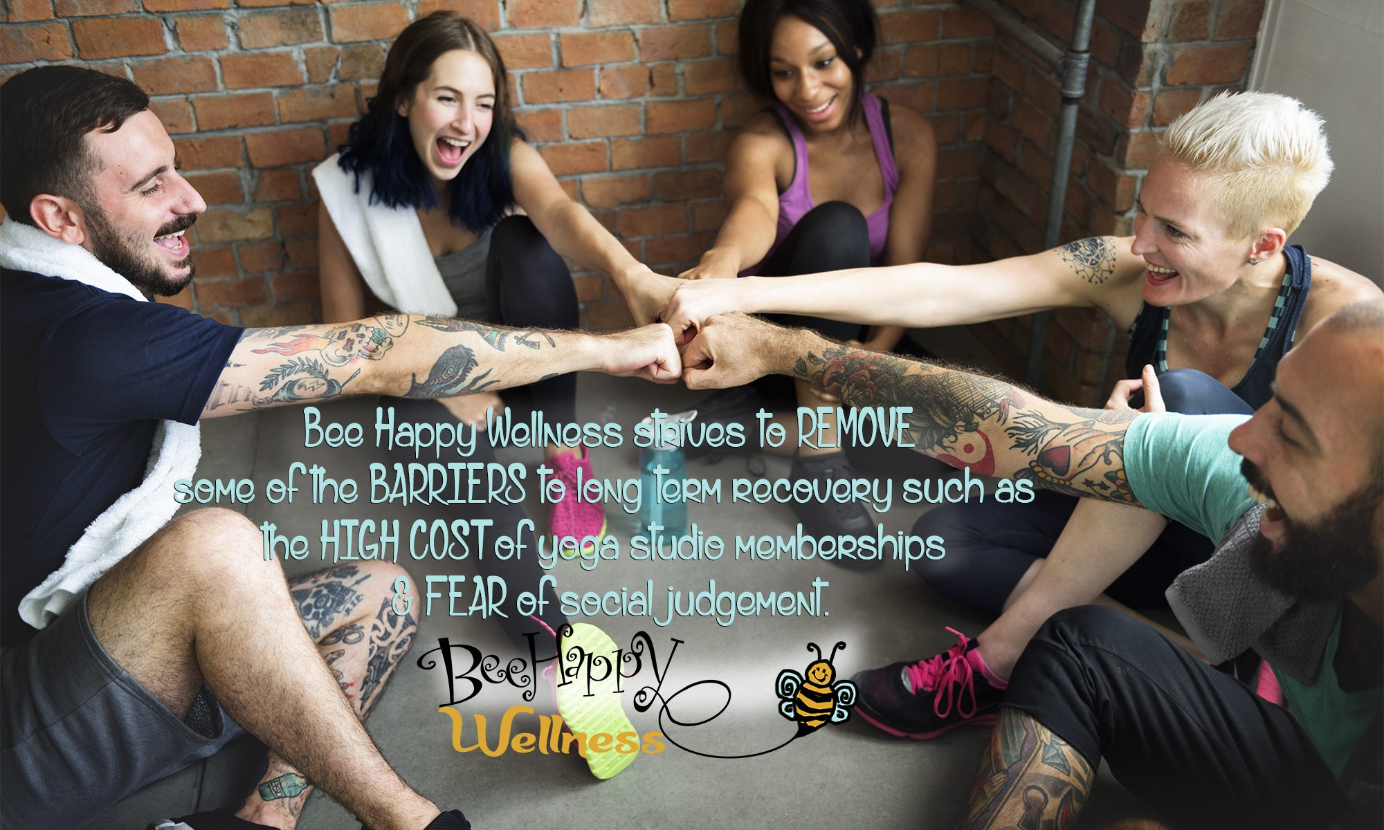 Bee Happy Wellness Center - Yoga, myofascial release treatment, massage, mindfullness, meditation, halotherapy, salt room, salt room yoga, halotherapy yoga, salt therapy, reiki, Aerial yoga, Juice bar, coffee